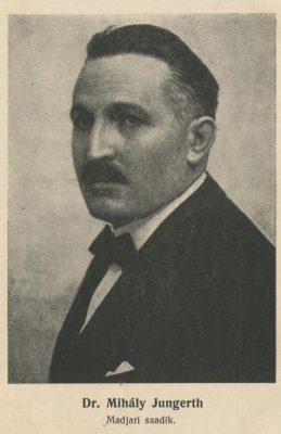 Jungerth Mihály. Kép: Észt Nemzeti Levéltár