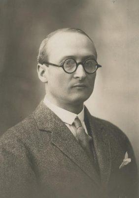 István Csekey. Foto: Rahvusarhiiv