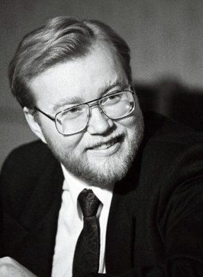 Mart Laar aastal 1992. Foto: Rahvusarhiiv