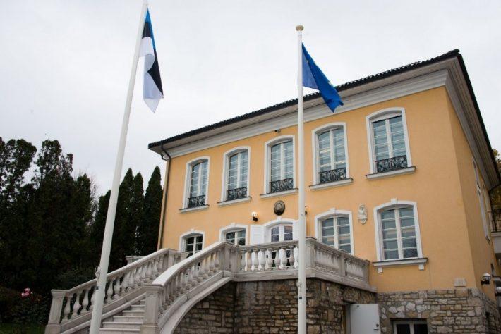 Eesti saatkond Budapestis aadressil Áldás 3. Foto: Eesti saatkond Budapestis arhiiv