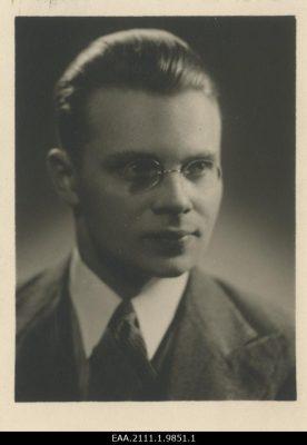 Felix Oinas. Kép: Észt Nemzeti Levéltár