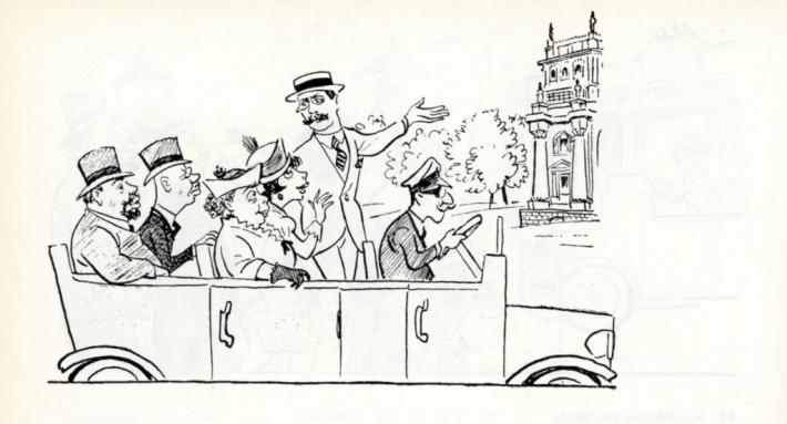 Illustration from the 1976 joint publication Lõbus Vilde (Merry Vilde) by Romulus Tiitus and Elem Treier. Photo: publisher Kunst in Tallinn