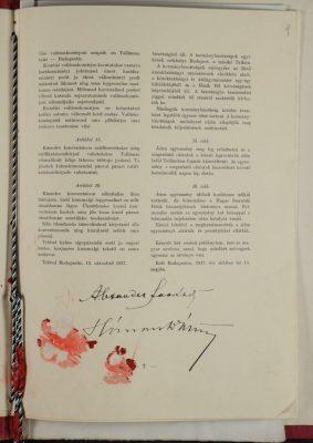 Az Észt Köztársaság és a Magyar Királyság közötti kulturális együttműködési megállapodás. Kép: Riigi Teataja, 100., 1937. december 17. https://dea.digar.ee/cgi-bin/dea?a=d&d=AKriigiteataja19371217.2.4