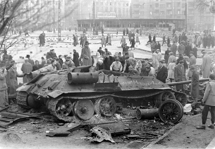 Hungarian uprising. Photo: Wikipedia