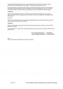 Az Észt Köztársaság és a Magyar Köztársaság közötti baráti kapcsolatok és együttműködés alapjairól szóló szerződés. Kép: Riigi Teataja