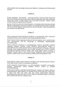 Az Észt Köztársaság Kulturális Minisztériuma ja Magyarország Emberi Erőforrások Minisztériuma közötti kulturális együttműködési program 2020–2022. első oldal. Kép: Észt Kulturális Minisztérium https://www.kul.ee/sites/kulminn/files/eesti-ungari_kultuurikoostooprogramm_2020-2022.pdf