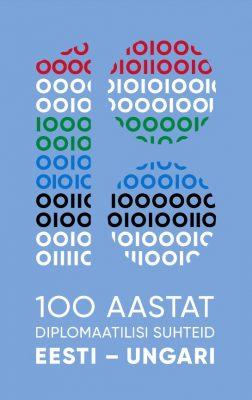 Az észt-magyar diplomáciai kapcsolatok centenáriumának logója. Kép: Észt Külügyminisztérium